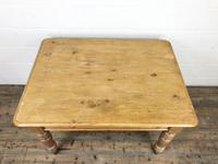 Antique Pine Kitchen Table (3 of 7)