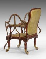 19th Century Mahogany Framed Carrying Chair (5 of 10)