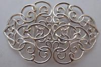 Edwardian Chester 1901 Hallmarked Solid Silver Nurses Belt Buckle Rare (6 of 6)
