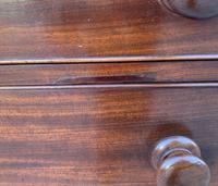 Antique Mahogany Chest of Drawers on Bracket Feet (11 of 12)