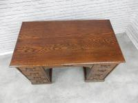Oak Pedestal Desk (9 of 9)