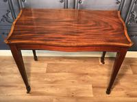 Edwardian Inlaid Mahogany Occasional Table (2 of 13)
