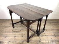 Early 18th Century Oak Gateleg Table (5 of 13)