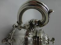 Antique Victorian Silver Teapot  London 1844 Barnard Brothers (3 of 10)