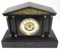 Amazing French Slate 8 Day Striking Mantle Clock (2 of 12)