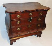 Dutch Oak Bombe Chest of Drawers (4 of 9)
