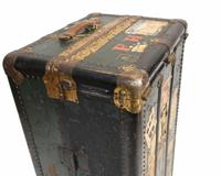 Vintage Steamer Trunk Luggage Case Harrison and  Co New York (8 of 28)