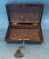 Victorian Belgium Painted Box in Holly (11 of 13)