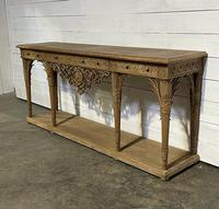 Wonderful French Walnut Console Table (10 of 36)