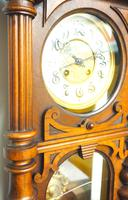 Wow! Antique German Spring Driven Quarter Striking Ting Tang 8- day Vienna Wall Clock (8 of 14)