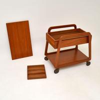 Danish Vintage Teak Sewing Table / Work Box (4 of 7)