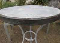 French Iron & Marble Bistro Table Mid 19th Century (7 of 12)
