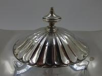 Antique Victorian Silver Tureen - Sheffield 1899 (4 of 7)