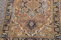Antique Heriz roomsize carpet 338x241cm (3 of 6)