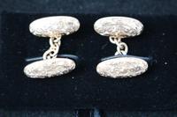 Pair of Victorian rose gold cufflinks (3 of 4)