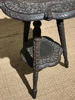 Late 19th Century Indian Lamp Table (3 of 8)