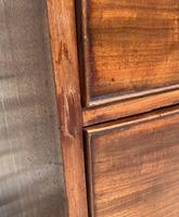 Large Regency Mahogany Bow Front Chest of Drawers (13 of 19)