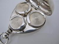 Rare Silver Triple Sovereign Holder Lucas & Co Birmingham 1900 (8 of 9)