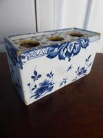 18th Century Delft Flower Brick (8 of 9)