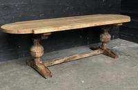 19th Century Rustic Oak Farmhouse Dining Table (11 of 23)