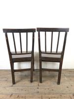 Pair of 19th Century Welsh Oak Farmhouse Chairs (12 of 12)