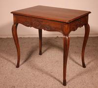 Small Louis XV Table In Oak -18 ° Century (3 of 10)