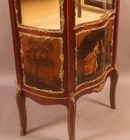 Good Quality French Serpentine Front Display Cabinet (3 of 11)