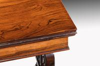 Regency Period Rosewood Library Table (7 of 7)