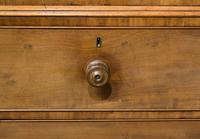 19th Century Mahogany Linen Press with Shelves & Drawers (4 of 6)