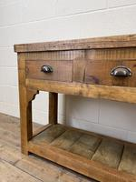 Rustic Wooden Sideboard with Two Drawers (6 of 10)