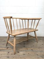 Mid Century Hall Bench or Telephone Table (7 of 13)
