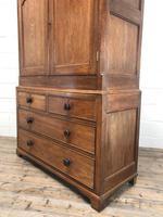 Antique 19th Century Welsh Oak Press Cupboard (3 of 14)