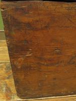 Antique Pine Tuck Box with Old Luggage Labels (9 of 19)
