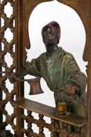 Franz Xavier Bergmann Austria Cold-painted Bronze Coffee Vendor Inkwell Figure (23 of 24)