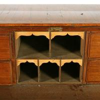 18th Century Italian Parquetry Bureau (8 of 8)