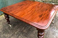 Very Large Victorian Mahogany Extending Dining Table (16 of 16)