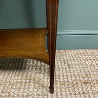 Quality Tall Slim Mahogany Victorian Antique Bookcase (2 of 8)
