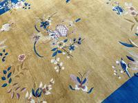 Antique Chinese Art Deco Carpet 3.15m x 2.71m (7 of 13)