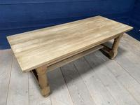 Good Looking Bleached Oak Farmhouse Dining Table (5 of 17)