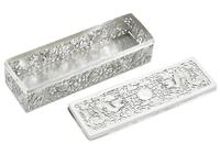 Chinese Export Silver Box - Antique c.1900 (4 of 9)