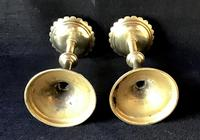 Pair of Arts and Crafts Brass Five Branch  Altar Candelabra (8 of 8)