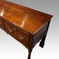 George III Long Oak Dresser Base (3 of 14)