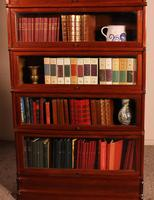 Fine Globe Wernicke Bookcase in Mahogany of 6 Elements - 19th Century (3 of 8)