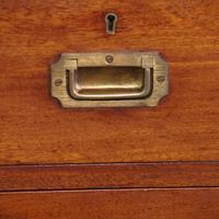 Victorian Teak Military Chest (4 of 12)