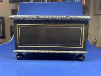 19th Century French  Ebonised Fruitwood Jewellery Box (11 of 18)