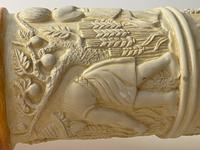 Dutch Golden Age Style Gilt Harvest Relief Plinth Display Torcheres (62 of 87)
