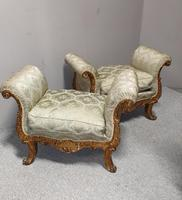 Superb Pair of Gilt Stools (2 of 11)