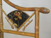 Rare Victorian Aesthetic Chair by Jas Shoolbred (9 of 10)