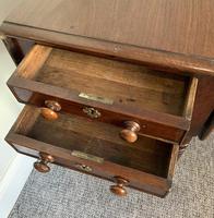 Victorian Mahogany Drop Flap Work Table (11 of 18)