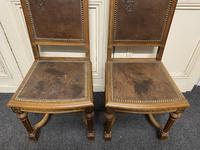 Set of 10 French Walnut Dining Chairs (13 of 15)